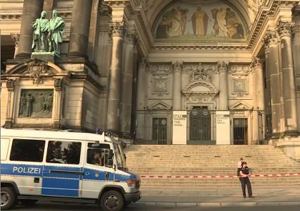 Берлин: Полиция оцепила кафедральный собор после стрельбы