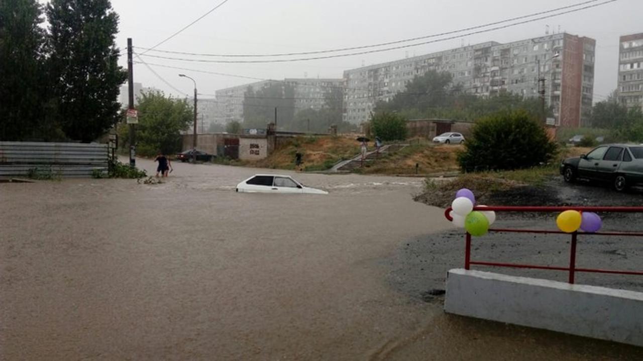 Дождь в Волгограде