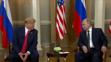 Пресс-конференция Путина и Трампа (Прямой эфир)