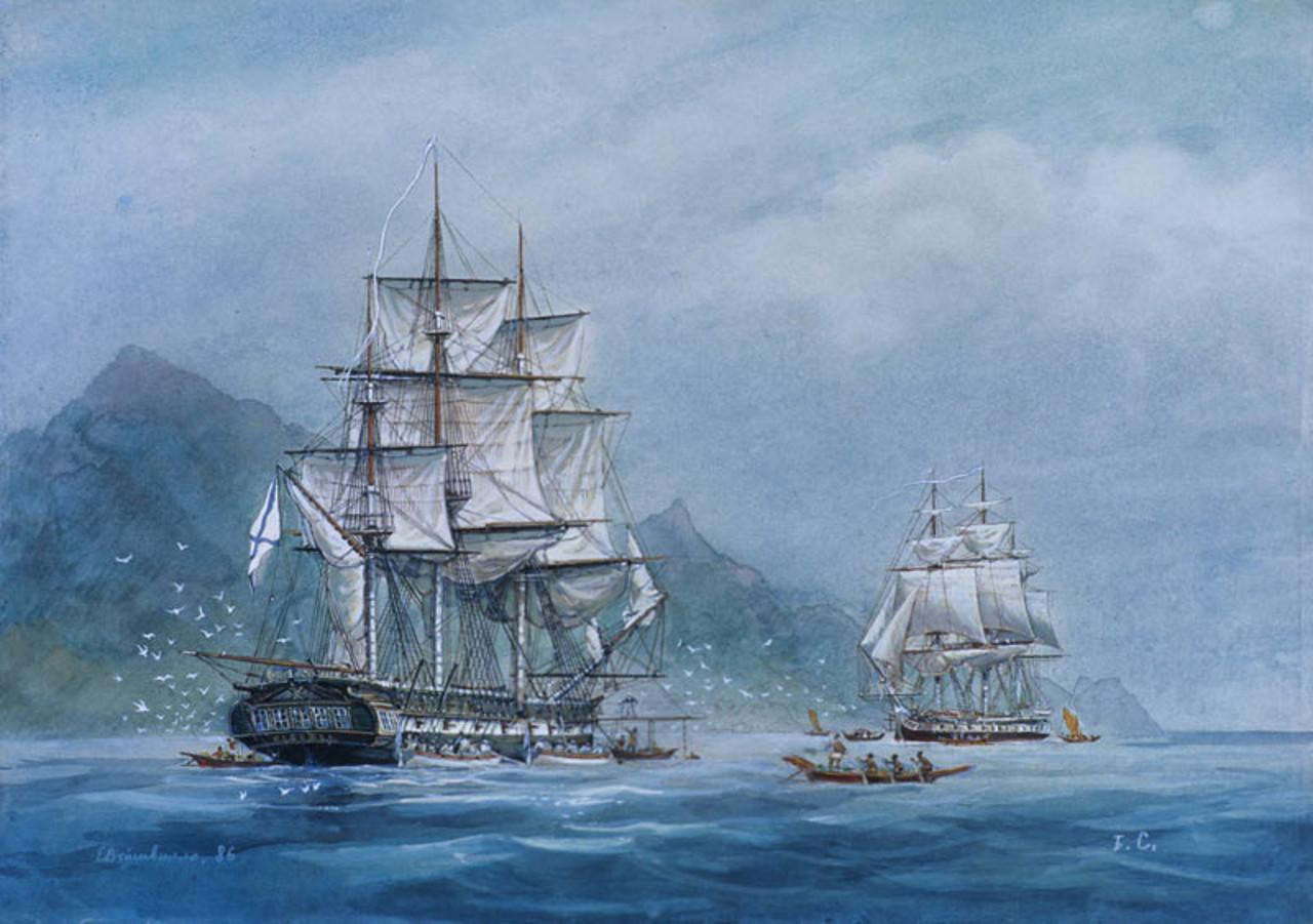 17 августа 1806 года – шлюп «Нева»