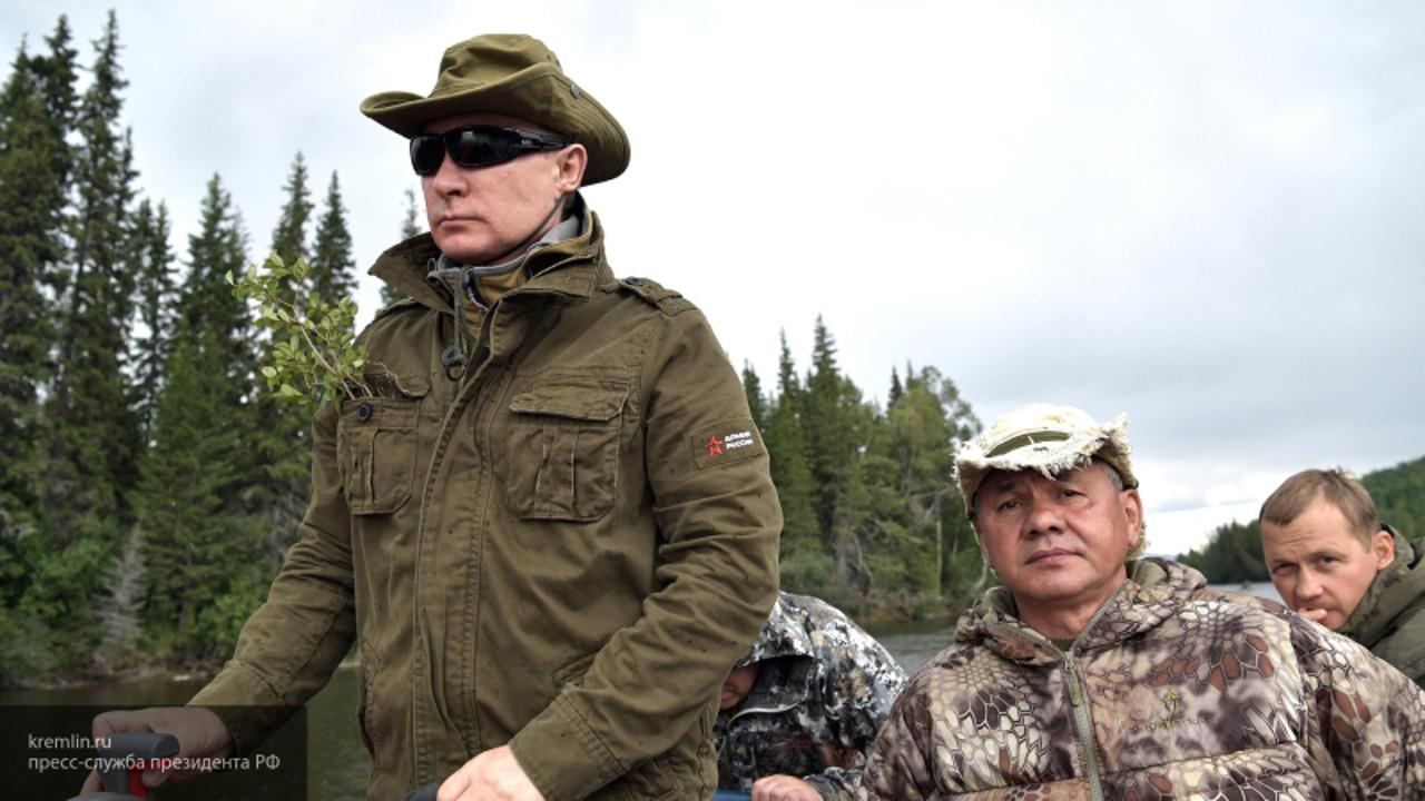 Выходные Путина в Туве