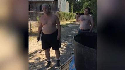 В США отец и сын расстреляли соседа из-за матраса (ВИДЕО)