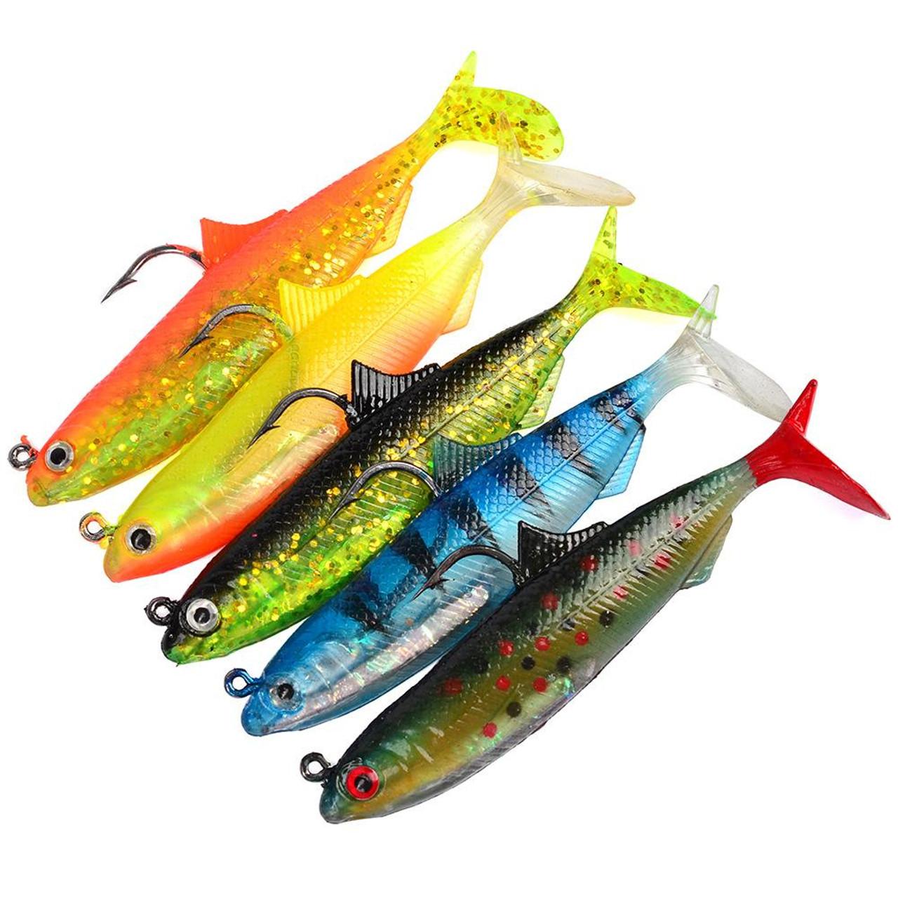Силиконовые приманки для рыбной ловли