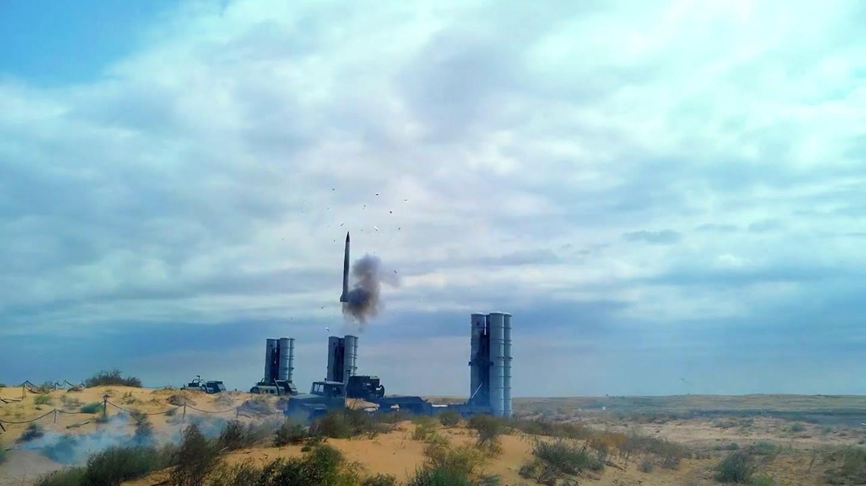 ЗРК С-300 в Сирии