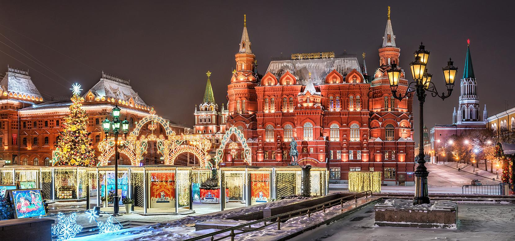 Москва попала в топ-10 городов мира (Для путешествий в рождество)
