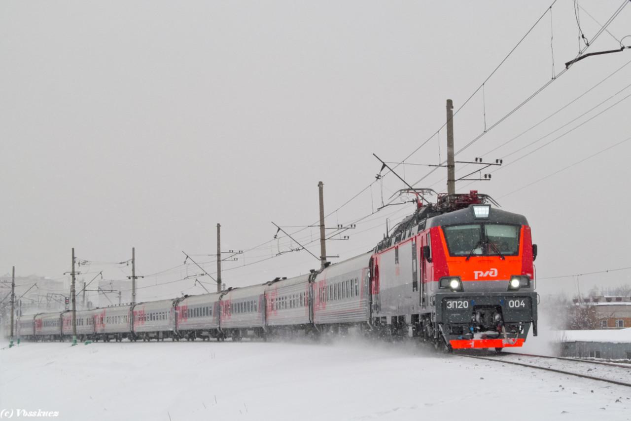 Поезда России и Украины