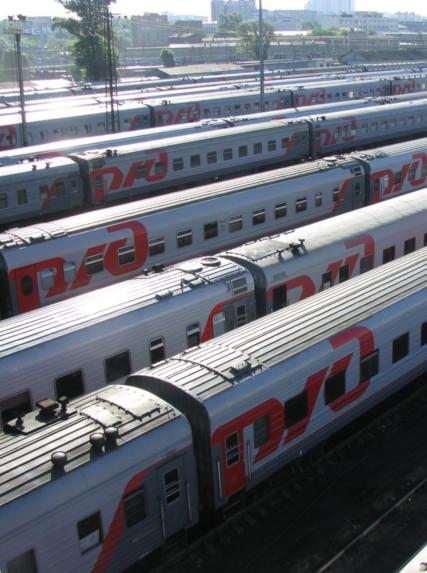 Поезда России и Украины (привет Русику)