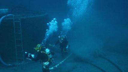 Водолазы ТОФ покорили глубину в 416 метров