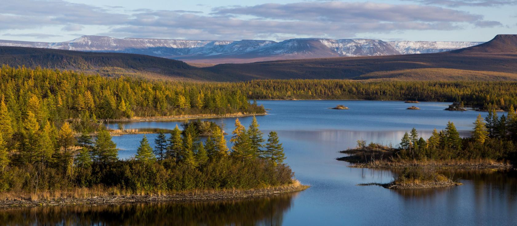 Озеро Аян (плато Путорана)
