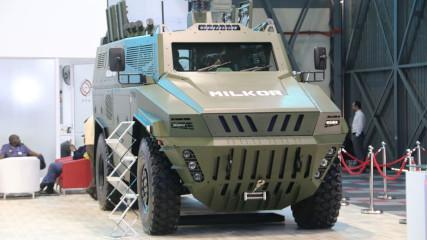 Бронетранспортер Milkor 4x4
