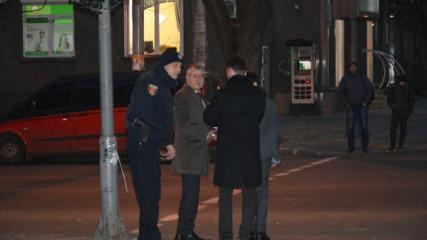 Титушки сорвали в Одессе эфир Гриценко