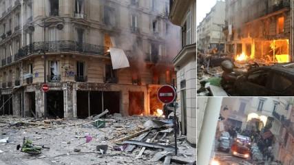 Взрыв в центре Парижа (видео и фото)