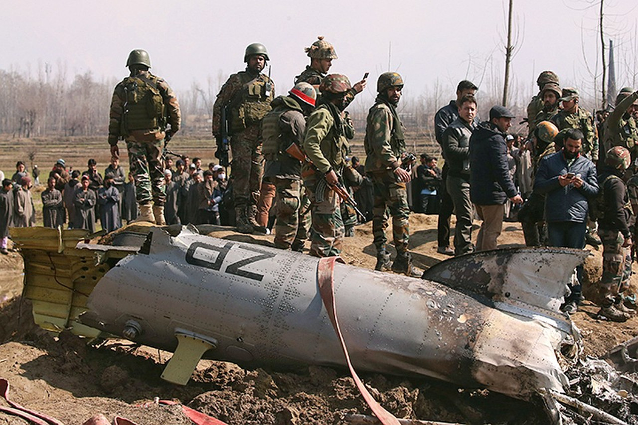Индия - Пакистан (Военная обстановка сегодня)