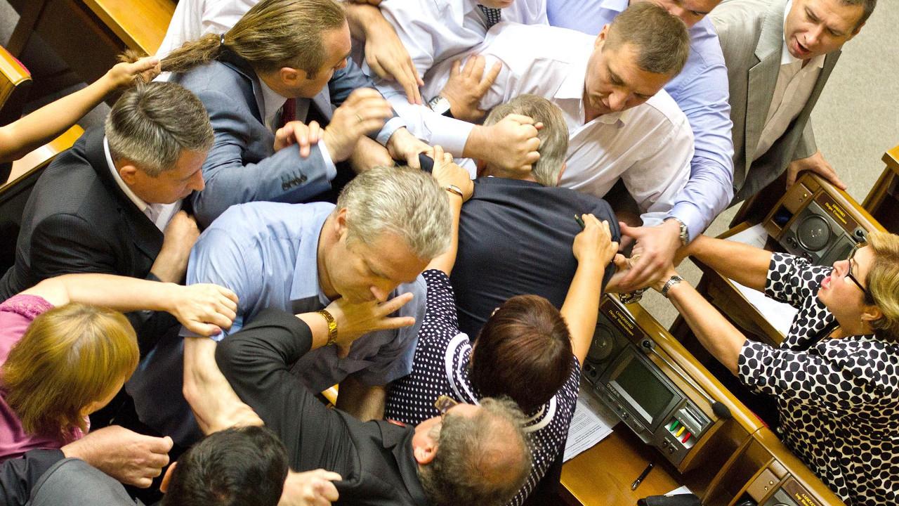 Лучшие драки украинских политиков