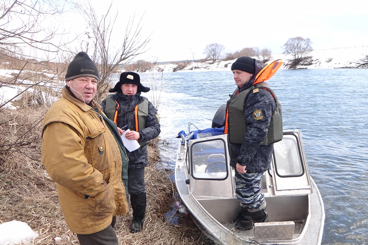 О работе отдела надзора и охраны водных биологических ресурсов по Калужской области