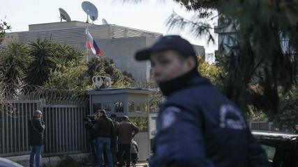 Афины: Неизвестные бросили гранату возле консульства РФ
