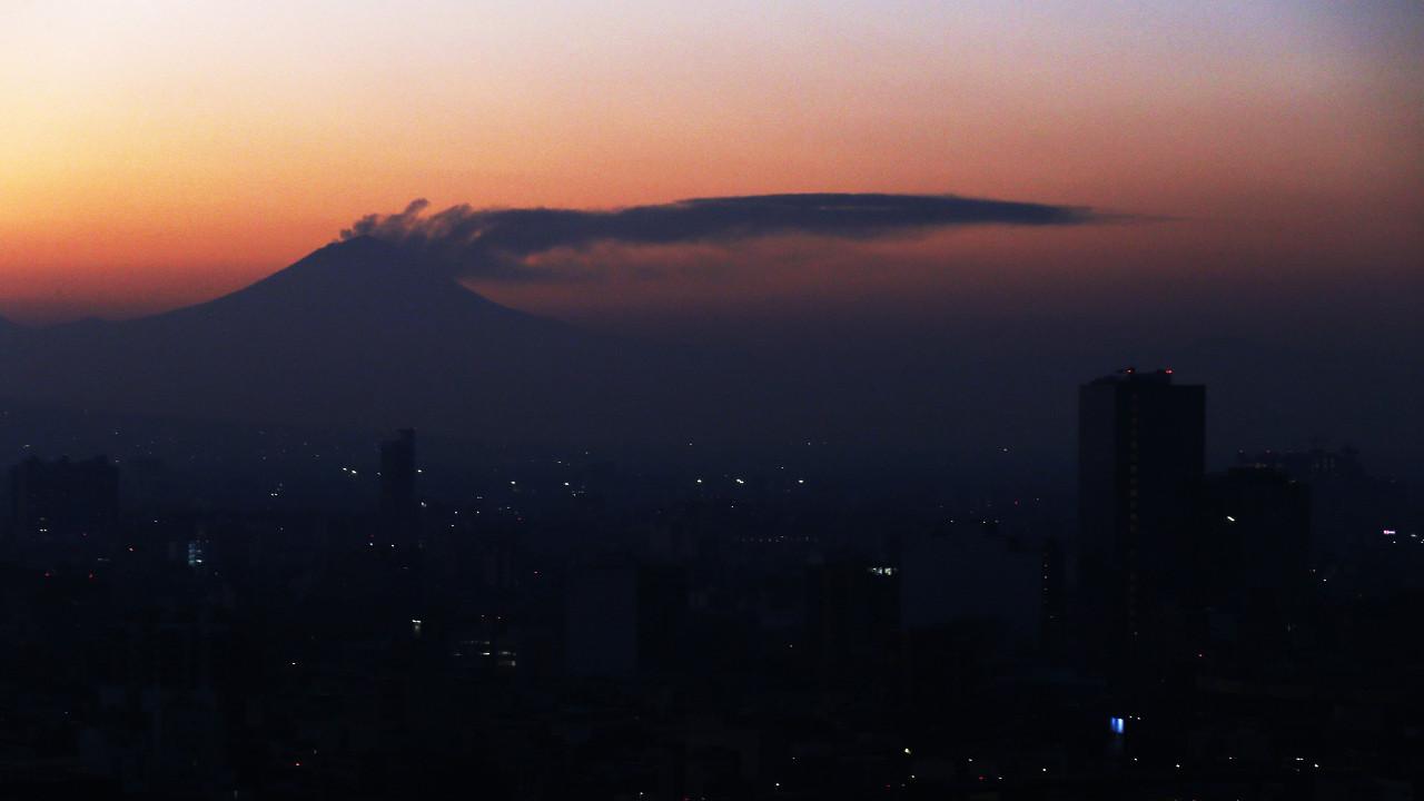 Вулкан Попокатепетль МЕКСИКА