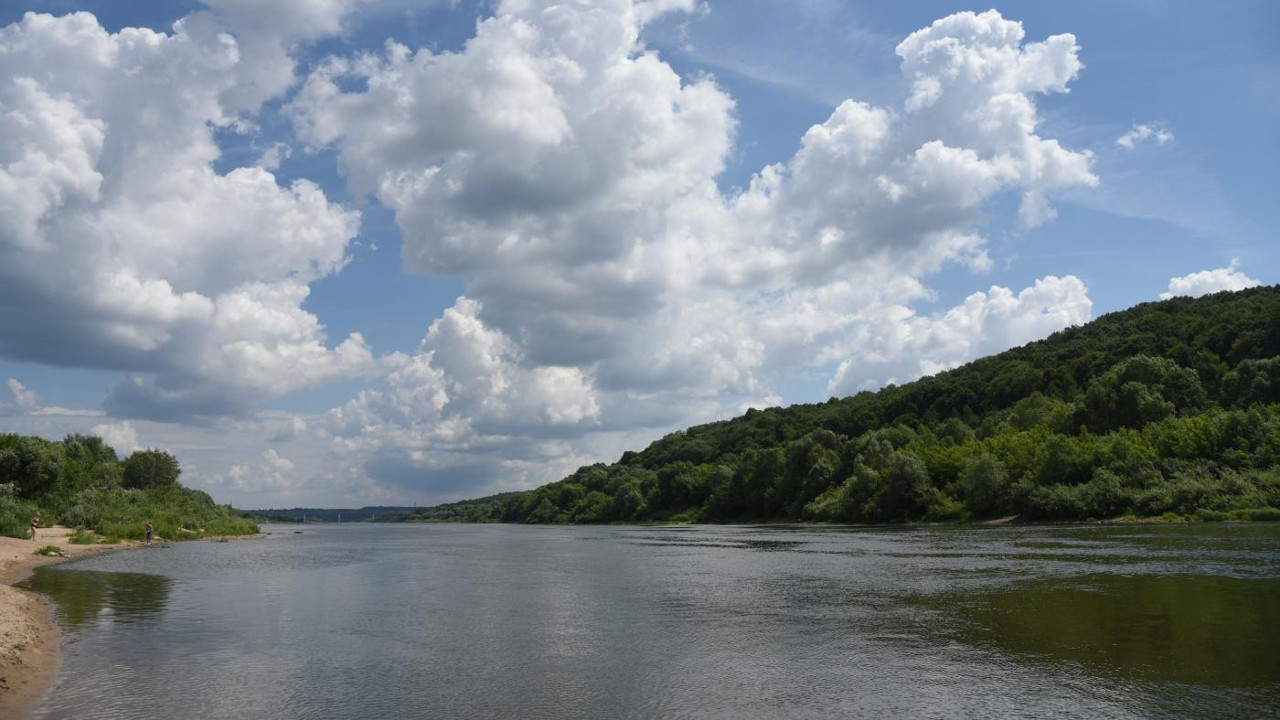Сброс отходов в реку Протва