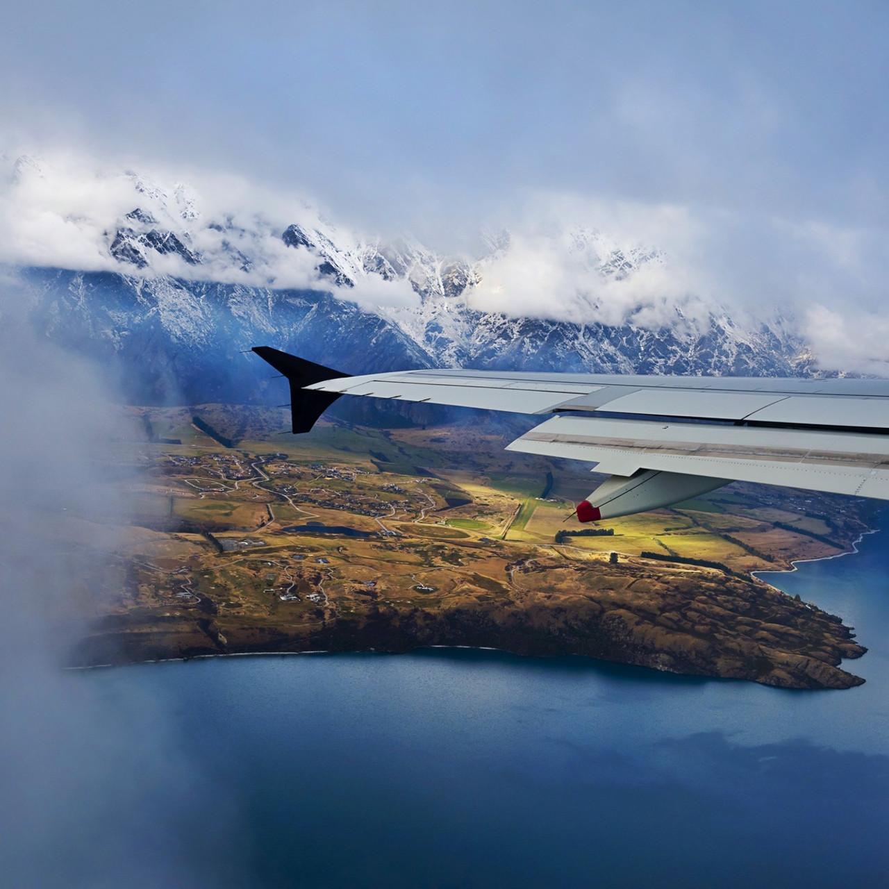 Аэропорт Куинстауна (Новая Зеландия) / Queenstown Airport (New Zealand)