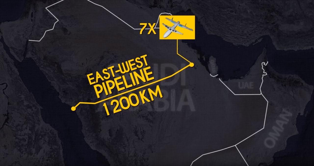 Хуситы атаковали нефтепровод в Саудовской Аравии