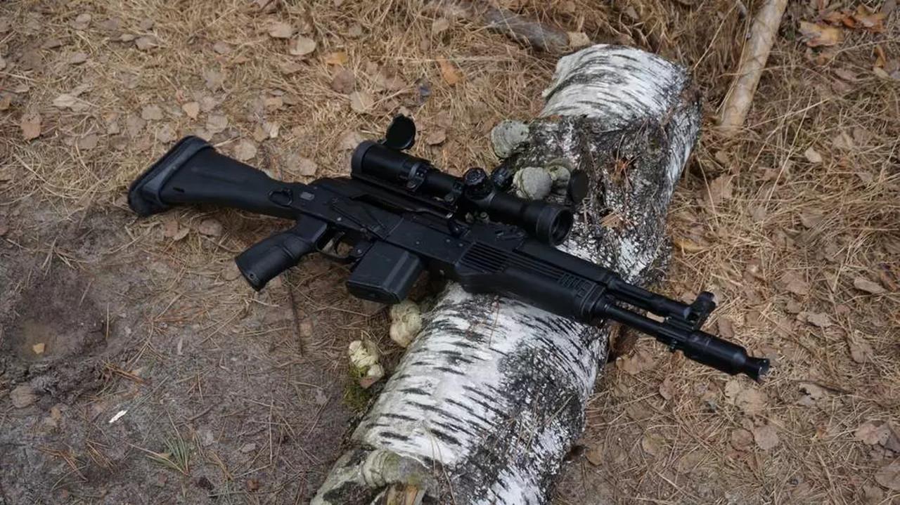 Охотничьи ружья (сайга)