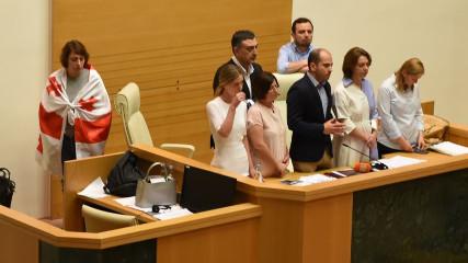 В Грузии радикалы сорвали заседание (МАП)