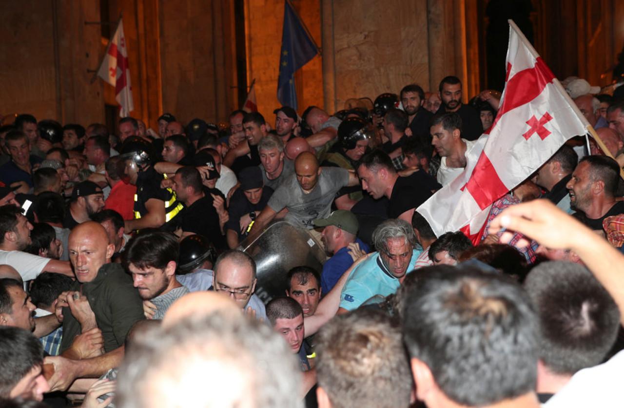 В Тбилиси опять майданят