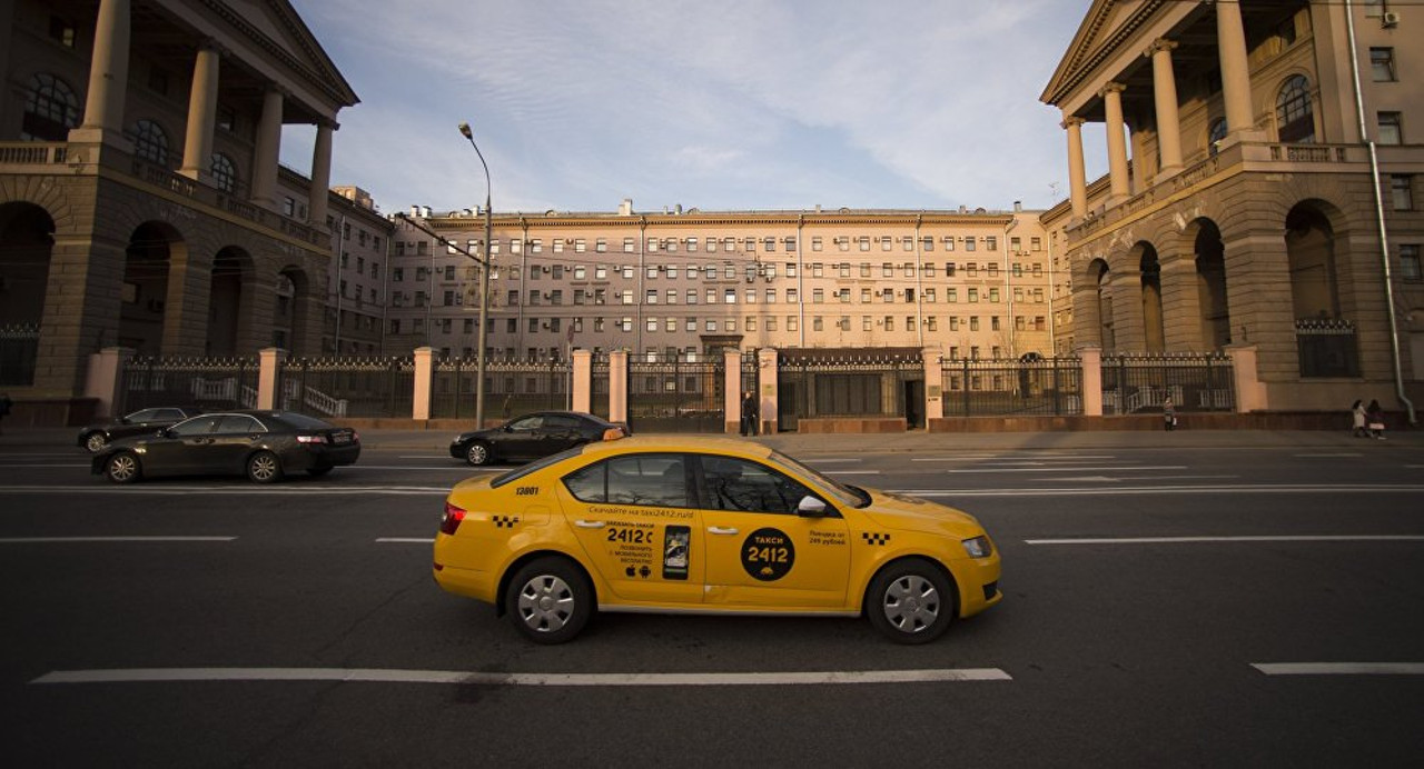 Служба такси в Москве
