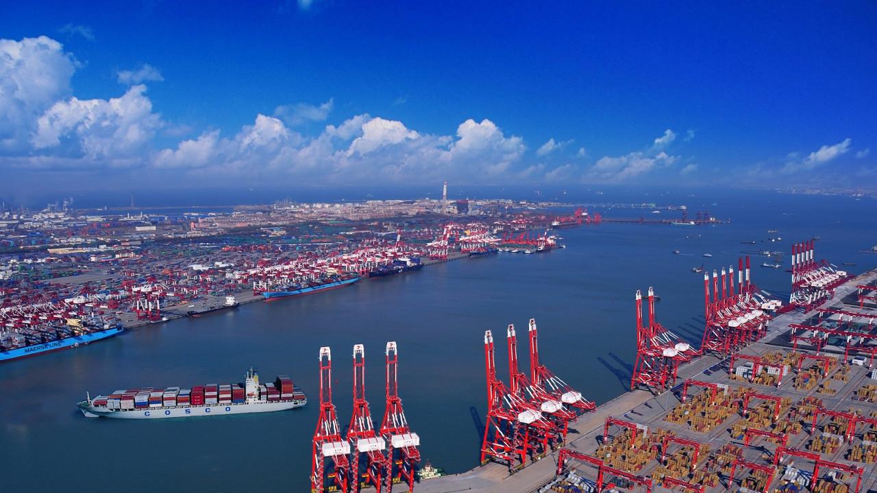 Порт Яншань