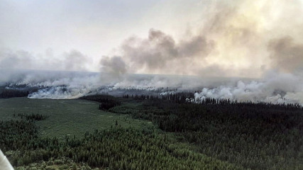 К тушению таежных пожаров подключаются военные