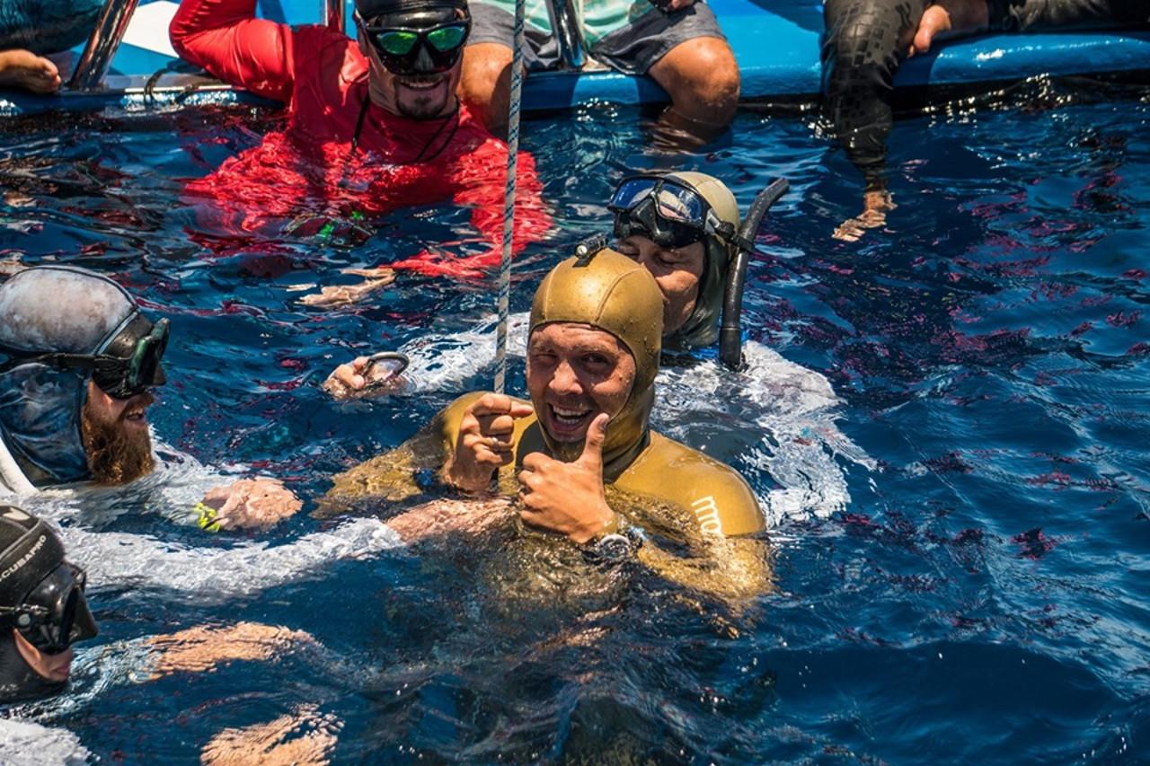 Новый мировой рекорд Алексея Молчанова в CWTB