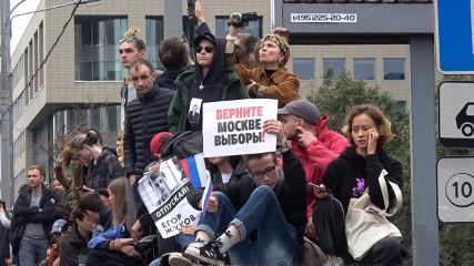 Мэрия Москвы не согласовала шествие засранцев по Москве 17 августа
