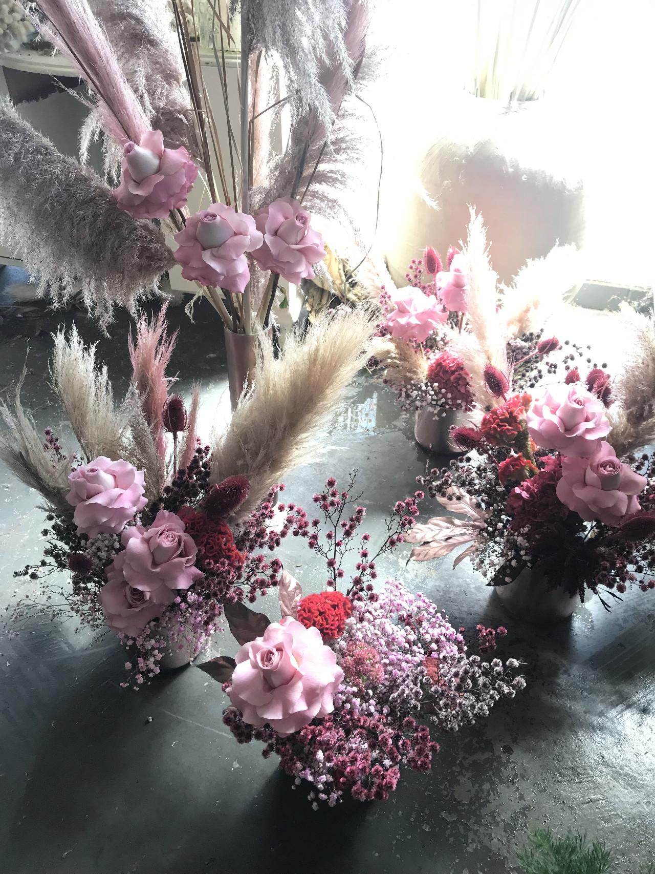 Сухоцветы, сухие цветы