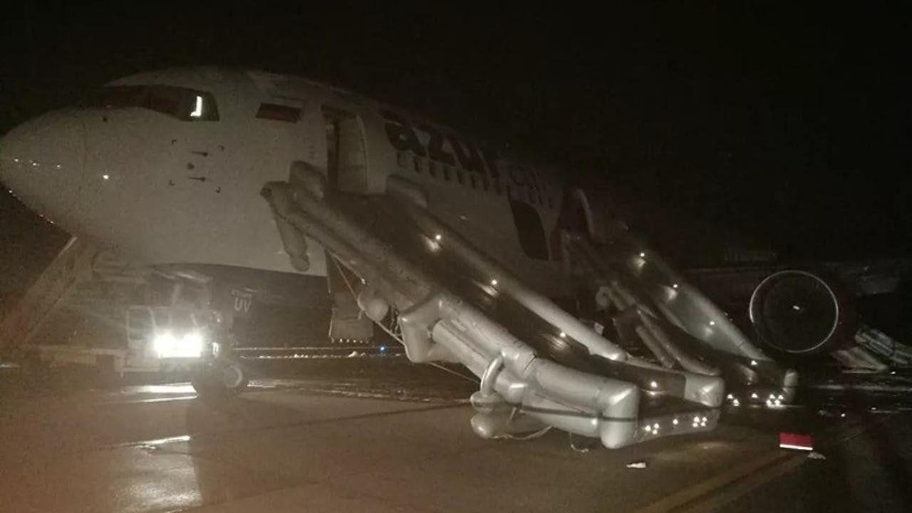 Авиакатастрофа в Барнауле
