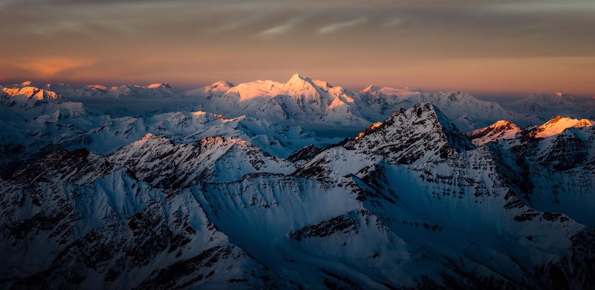 Ледник на Монблане