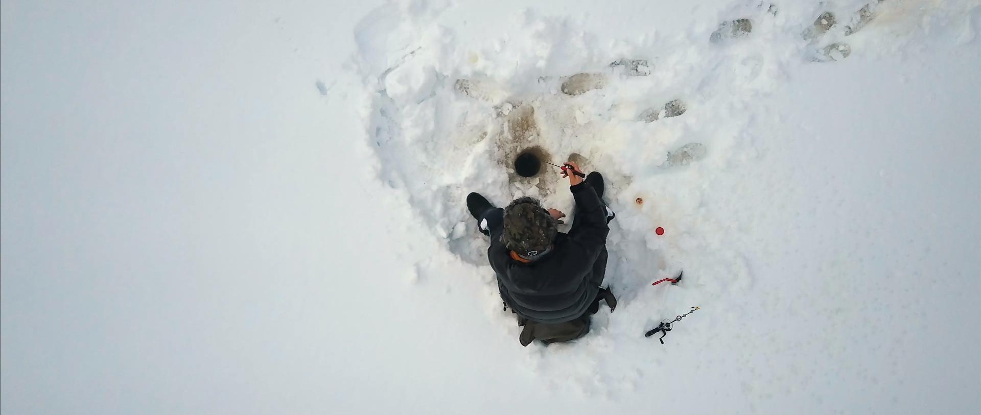 Зимняя рыбалка в Финляндии