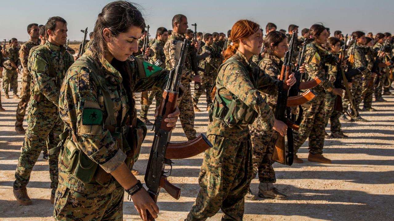 15 курдских военных погибли в результате теракта на востоке Сирии