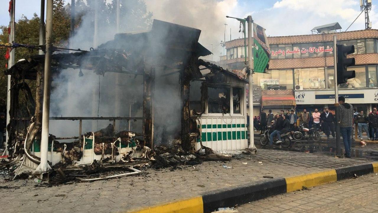 Протесты в Иране и отключение интернета