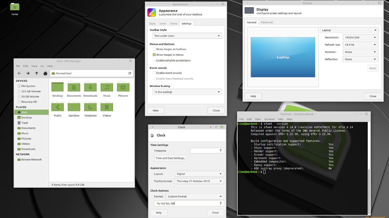 Linux Mint 19.3 (Скачать)