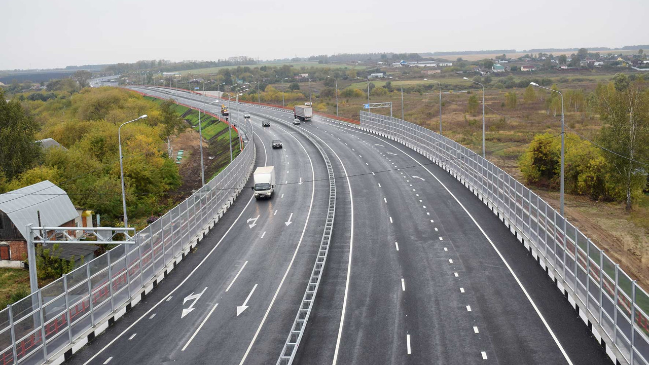 На федеральной трассе М-5 «Урал» отремонтировали 40 км дороги
