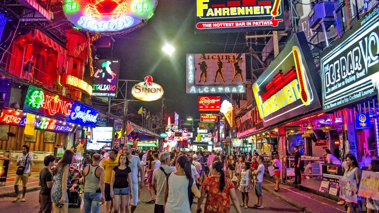 Паттайе: число туристов из Европы сократился на 40%